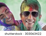man with sunglasses | Shutterstock . vector #303063422