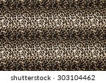 wild animal pattern background... | Shutterstock . vector #303104462