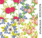 abstract elegance seamless... | Shutterstock .eps vector #303154196