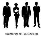 business people | Shutterstock .eps vector #30320128