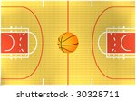 illustration of a basketball... | Shutterstock . vector #30328711