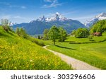 Idyllic Summer Landscape In Th...