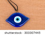 Evil Eye Bead   Stock Image...