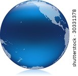 vector illustration of shiny... | Shutterstock .eps vector #30331378