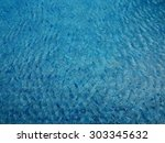 the surface of water in... | Shutterstock . vector #303345632