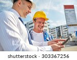 business  building  teamwork ... | Shutterstock . vector #303367256
