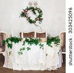 wedding decoration | Shutterstock . vector #303425096