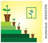 gardening  agriculture   ... | Shutterstock .eps vector #303432596