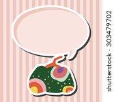 style pumpkin cartoon elements...   Shutterstock .eps vector #303479702