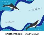 vector sea design   Shutterstock .eps vector #30349360