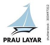 boat logo template | Shutterstock .eps vector #303497312