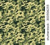 classic green military... | Shutterstock .eps vector #303506255