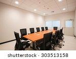meeting room in office. | Shutterstock . vector #303513158