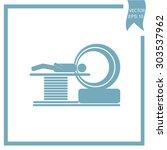 mri scanner  ct scanner | Shutterstock .eps vector #303537962