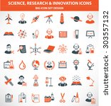hence research and innovation... | Shutterstock .eps vector #303557132