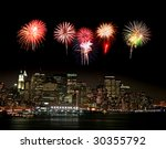 The New York City Skyline From...