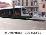 rome  italy   may  2015  tram... | Shutterstock . vector #303566588