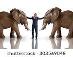 business challenge mediation... | Shutterstock . vector #303569048