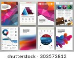 abstract vector backgrounds and ... | Shutterstock .eps vector #303573812