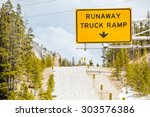 Runaway Truck Ramp Road Sign
