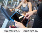 sport  fitness  lifestyle ... | Shutterstock . vector #303622556