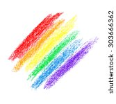 abstract rainbow colors | Shutterstock . vector #303666362
