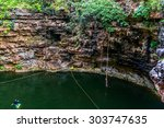 "sacred cenote  ""sacred well"" or ... 