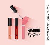fashion female design  vector... | Shutterstock .eps vector #303770792