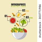 menu restaurant design  vector... | Shutterstock .eps vector #303771986