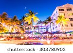 miami  florida   june 21  2015  ... | Shutterstock . vector #303780902