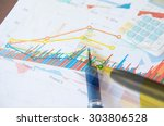 financial and business color...   Shutterstock . vector #303806528