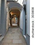 Passage Way In Soho  London Uk  ...