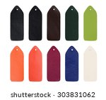 multi colored samples of... | Shutterstock . vector #303831062