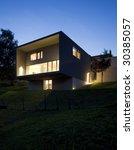 modern house   Shutterstock . vector #30385057