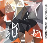 geometric pattern consisting of ... | Shutterstock .eps vector #303900818