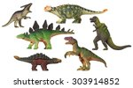 Plastic Toys   Dinosaurs And A...