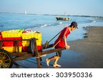 long hai  viet nam   may 31... | Shutterstock . vector #303950336
