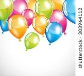 balloons | Shutterstock .eps vector #303964112