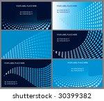 business cards | Shutterstock .eps vector #30399382