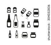 jar icon set | Shutterstock .eps vector #304032836
