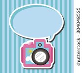 camera theme elements | Shutterstock .eps vector #304048535