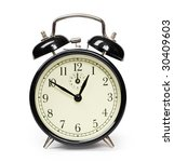 alarm clock isolated on white | Shutterstock . vector #30409603