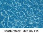 texture background of water in... | Shutterstock . vector #304102145