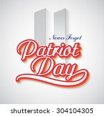Patriot Day Background.  United ...