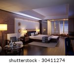 Stock photo hotel room design a room in the hotel 30411274