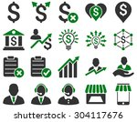 trade business and bank service ... | Shutterstock .eps vector #304117676