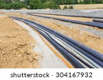new cables for new houses | Shutterstock . vector #304167932