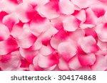 Stock photo pink rose petals 304174868