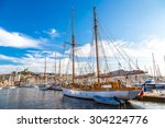 Old Sea Port In A Summer Day I...