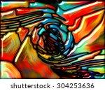 goblin glass series. interplay... | Shutterstock . vector #304253636